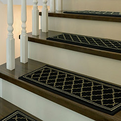 Black Bruges 5-pc. Stair Tread Set