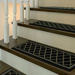 Black Bruges 5-pc. Stair Tread Set