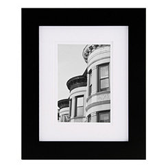 Gallery Black Mat Picture Frame, 8x10