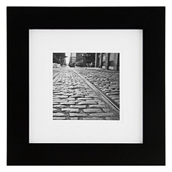 Gallery Black Matted Picture Frame, 8x8