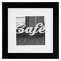 Gallery Black Matted Picture Frame, 12x12