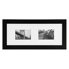 Gallery Black Matted Picture Frame, 8x10