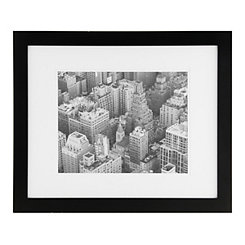 Gallery Black Matted Picture Frame, 16x20