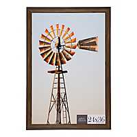 Brown Poster Picture Frame, 24x36