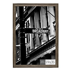 Graywash Poster Picture Frame, 24x36