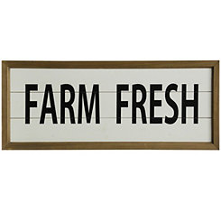 Farm Fresh Wall Plaque