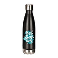 Stainless Steel Best Teacher Ever Water Bottle