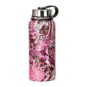 Pink Camo Canteen Bottle