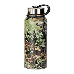 Green Camo Canteen Bottle