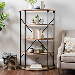 Rounded Industrial Shelf