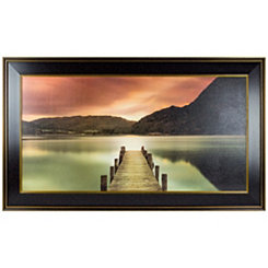 Ullswater Reflecting View Framed Art Print