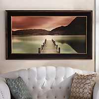 Ullswater Reflecting View Framed Art Print