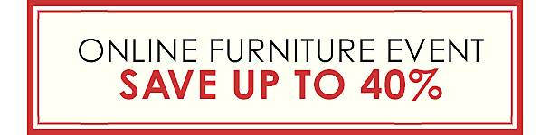 Online Furniture Event