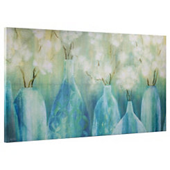Topaz Vases Canvas Art Print