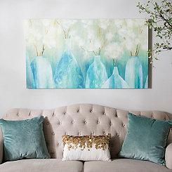 Topaz Vases Canvas Art Print