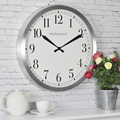 Soho Steel Round Wall Clock