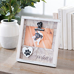 Pawsitively Perfect Clip Picture Frame, 4x6
