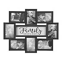 Family 8-Opening Dimensional Collage Frame