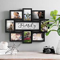 68b3e4fc2fb Family 8-Opening Dimensional Collage Frame