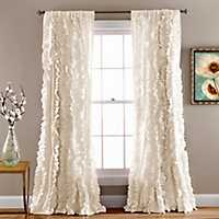 Ivory Belle Curtain Panel, 84 in.