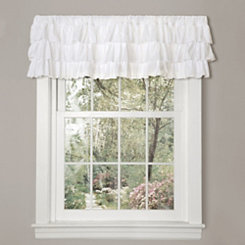White Belle Valance
