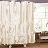 Serena Ivory Shower Curtain
