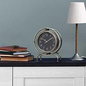 Gamma Metal Tabletop Clock