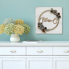 Blessed Cottage Wall Plaque