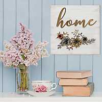 Home Cottage Wall Plaque