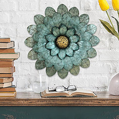 Morning Glory Flower Wall Plaque