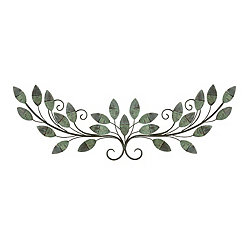 Mint Leaf Vine Wall Plaque