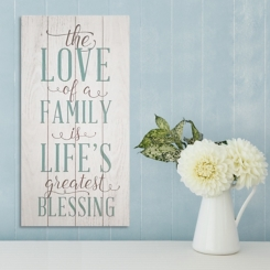 Love of a Family Wall Plaque