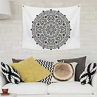 Mendi Medallion Wall Tapestry