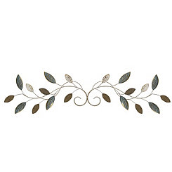 Graceful Scrolling Vine Wall Plaque