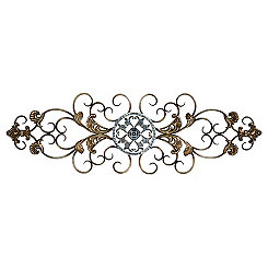 Traditional Scrolled Wall Plaque