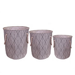 Arrow Laundry Hampers, Set of 3