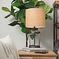 Aiden Glass and Metal Table Lamp