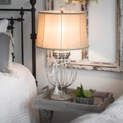 Isla Cream Metal Table Lamp