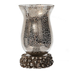 Coastal Silver Mercury Glass Uplight