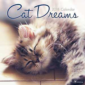Cat Dreams 2018 Wall Calendar