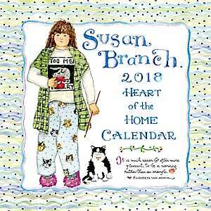 Susan Branch 2018 Wall Calendar