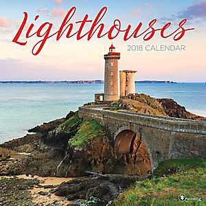 Lighthouses 2018 Wall Calendar
