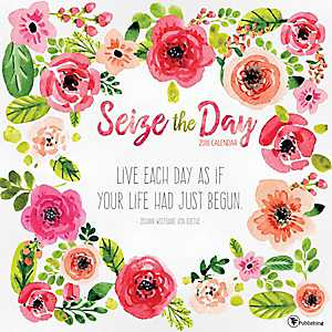 Seize The Day 2018 Wall Calendar