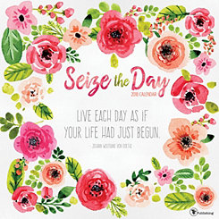 Seize The Day 2018 Wall Calendar