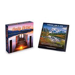 Daily Verse 2018 Desktop Calendar