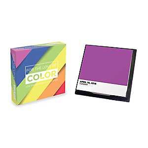 For The Love Of Color 2018 Desktop Calendar