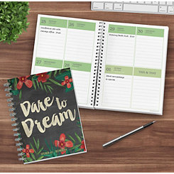 Dare To Dream 2018 Planner
