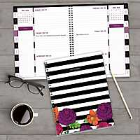 Striped Floral 2018 Planner