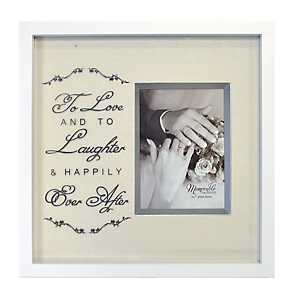 To Love and to Laughter Wedding Picture Frame, 5x7