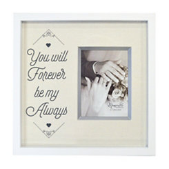 Forever Be My Always Wedding Picture Frame, 5x7